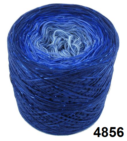 Barevné duhové klubíčko 3-NITKA (1000m/200g) - 4856