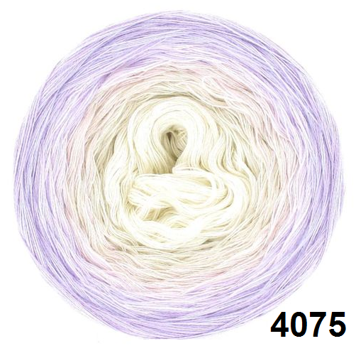 Barevné duhové klubíčko 3-NITKA (750m/150g) - 4075