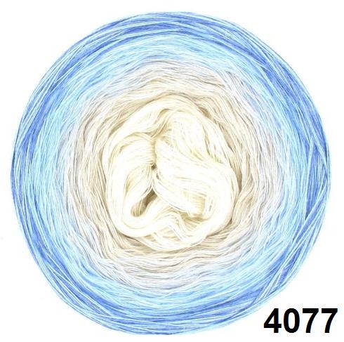 Barevné duhové klubíčko 3-NITKA (1000m/200g) - 4077