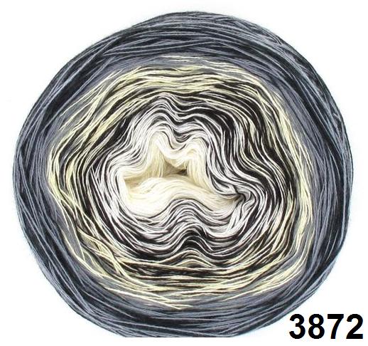 Barevné duhové klubíčko 3-NITKA (750m/150g) - 3872